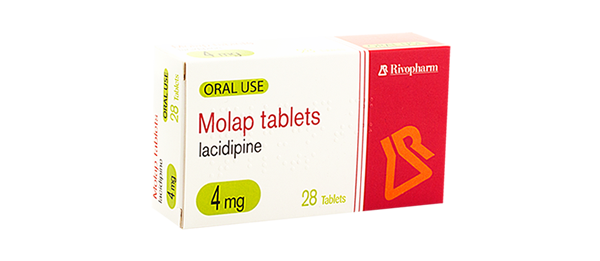 Lacidipine (Molap) Tablets