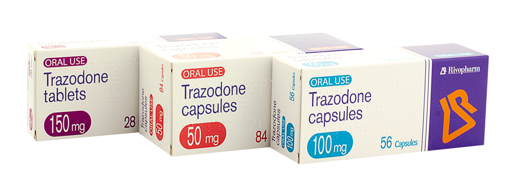 Trazodone Capsules and Tablets